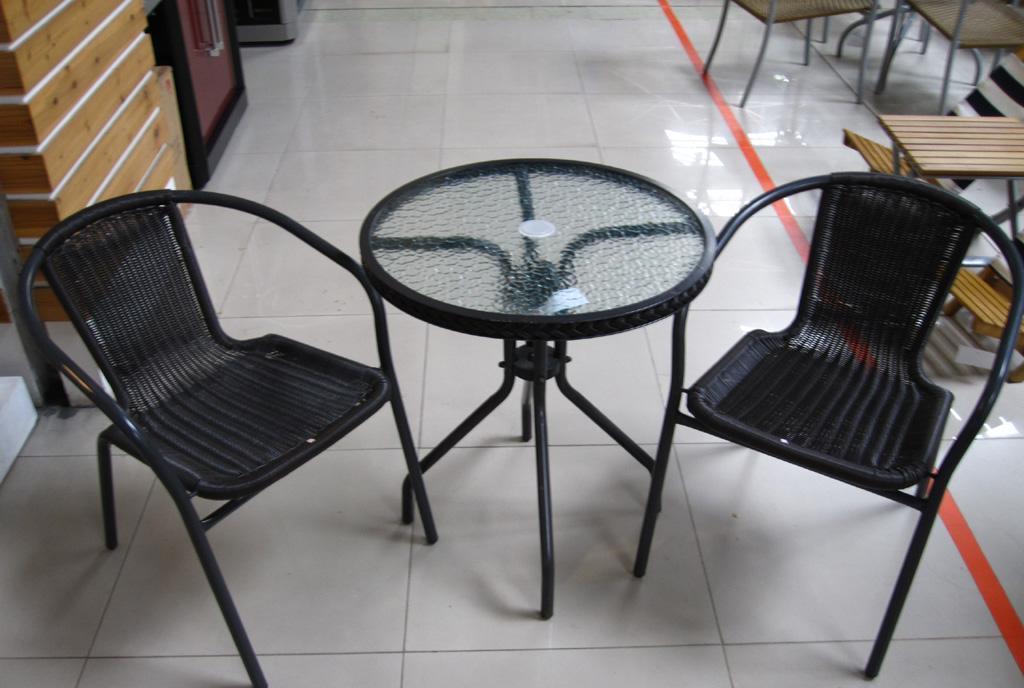 EcoG溢柯编藤阳台圆桌