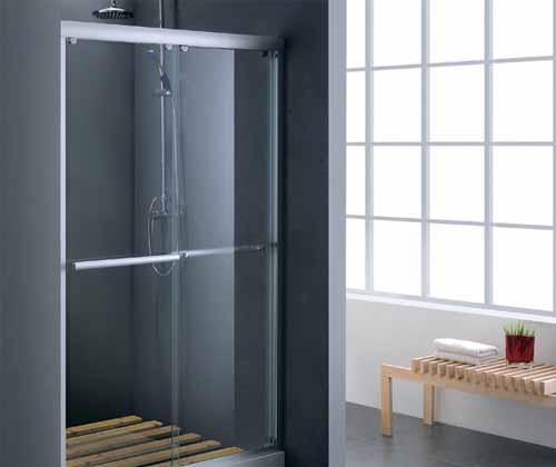 杜菲尼镶嵌型平开门DL5666简易淋浴房DL5666