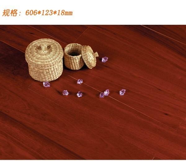 安信实木地板-巴西玫瑰木(606*123*18mm)巴西玫瑰木606*123*18..