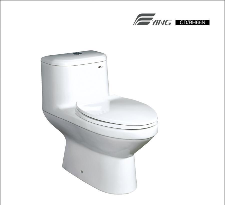 鹰卫浴连体座厕 CBH66NCCBH66NC