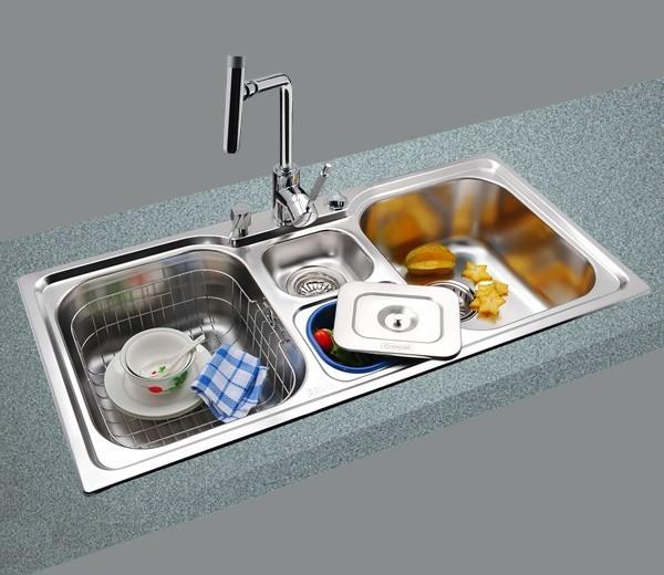 GORLDE优质不锈钢水槽/洗菜池 环保星系列HBS-6HBS-6#