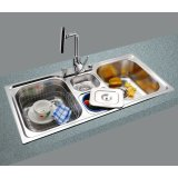 GORLDE优质不锈钢水槽/洗菜池 环保星系列HBS-6