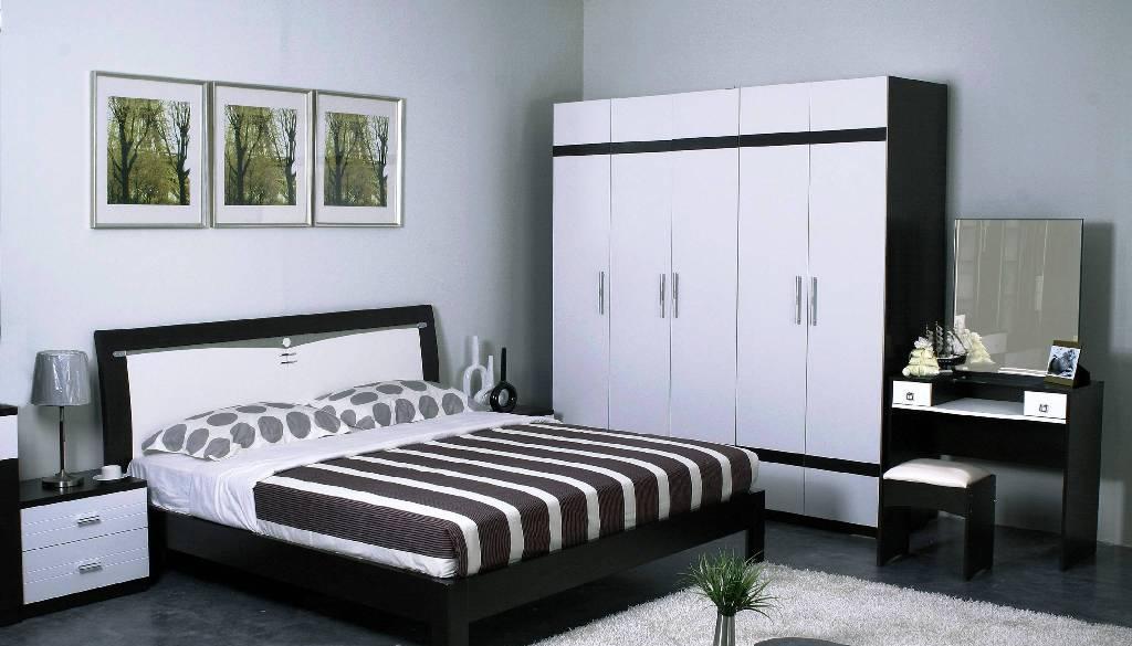 华源轩- 卧室家具-新黑橡系列-1.8米大床-R307ALR307AL