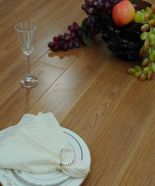 德尔简约风格JC06阳光柚木强化复合地板JC06