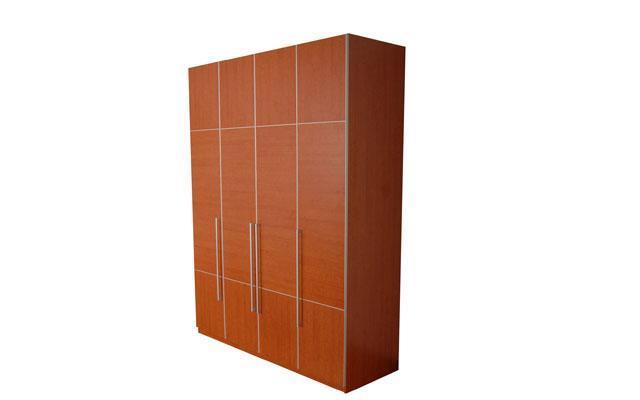 奥格美国红樱桃套荷花白色系列A05衣柜配AG4门型A05衣柜