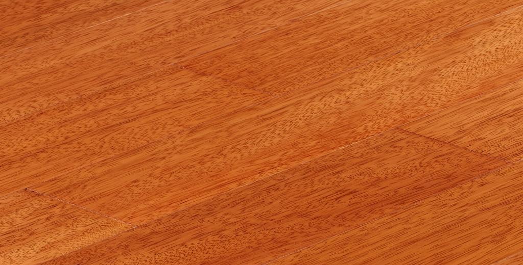 上臣实木地板栗褐榄仁系列15-G-1<br />