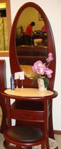 光明实木卧室家具系列-001梳妆台001-1204-740