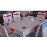 龙森663亮光烤漆餐桌