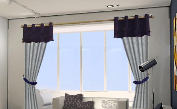 布易窗帘现代时尚系列淡影寒窗-点点思念淡影寒窗-点点思念