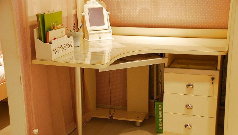 我爱我家儿童家具F61101-IA+6+S+Y组合书桌F61101-IA+6+S+Y