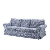 宜家爱克托(克林伯 蓝色)三人沙发