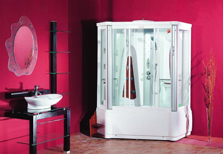 英皇带缸单人整体淋浴房CF741LCF741L