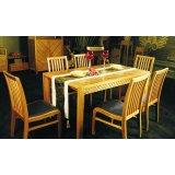 华源轩- 餐厅家具-黄金柚系列-餐台-T1802