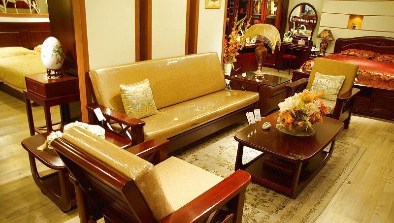 光明客厅家具沙发组合(1+1+3+长茶几+方茶几)1+1+3+长茶几+方茶几