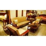 光明客厅家具沙发组合(1+1+3+长茶几+方茶几)