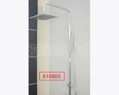 华亿达-铬色-小型淋浴柱6108 06