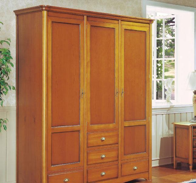 大风范家具洛可可卧室系列RC-851-3三门衣柜RC-851-3三门衣柜