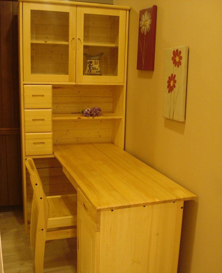 树之语新艾薇尔松木原木色系列SCP-1Y书柜电脑桌SCP-1Y