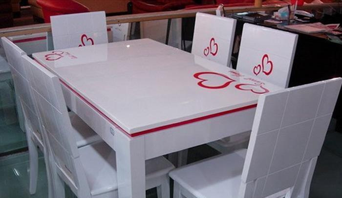 龙森652亮光烤漆餐桌652