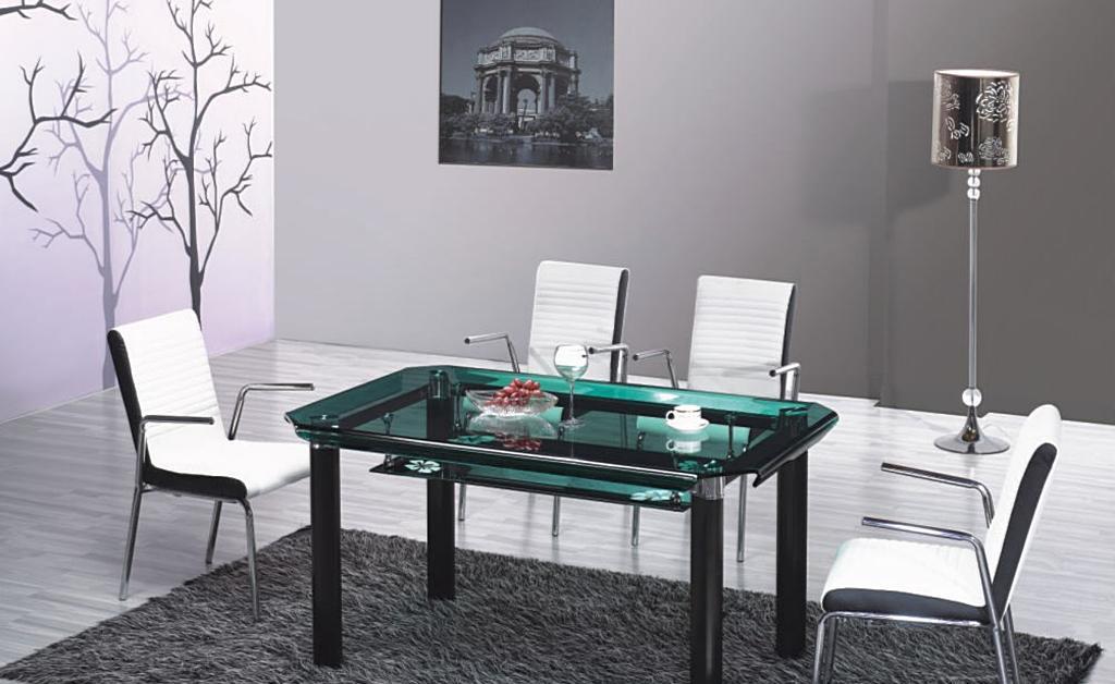 朗臣时尚系列TBD-B080-B611餐桌TBD-B080-B611