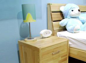 雅琴居儿童松木床头柜家经典星星索系列SL6221SL6221