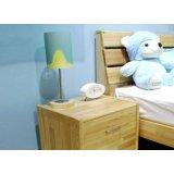 雅琴居儿童松木床头柜家经典星星索系列SL6221
