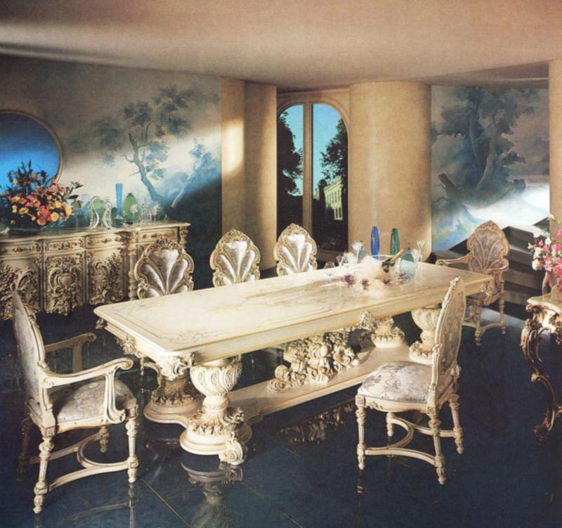 罗浮居餐桌意大利SILIK家具F1-43-015-D27F1-43-015-D27