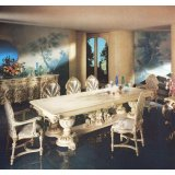 罗浮居餐桌意大利SILIK家具F1-43-015-D27