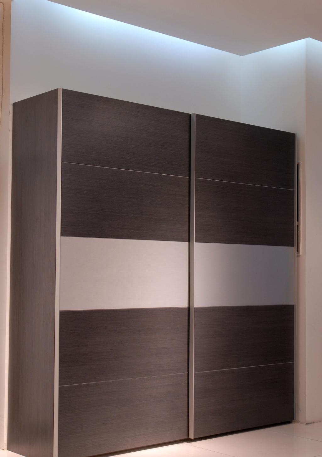 国安佳美衣柜 灰拉丝系列23A4901+A-M01