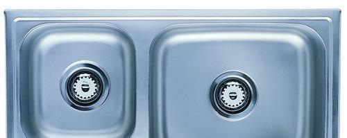 摩恩大小槽不锈钢厨盆2201022010