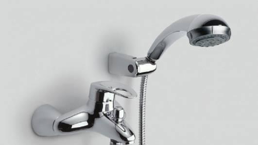 乐家卫浴摩图系列挂墙式淋浴龙头5A2055C0N5A2055C0N