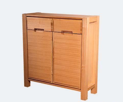 树之语全实木水曲柳原木系列A-鞋柜1#A-鞋柜1#