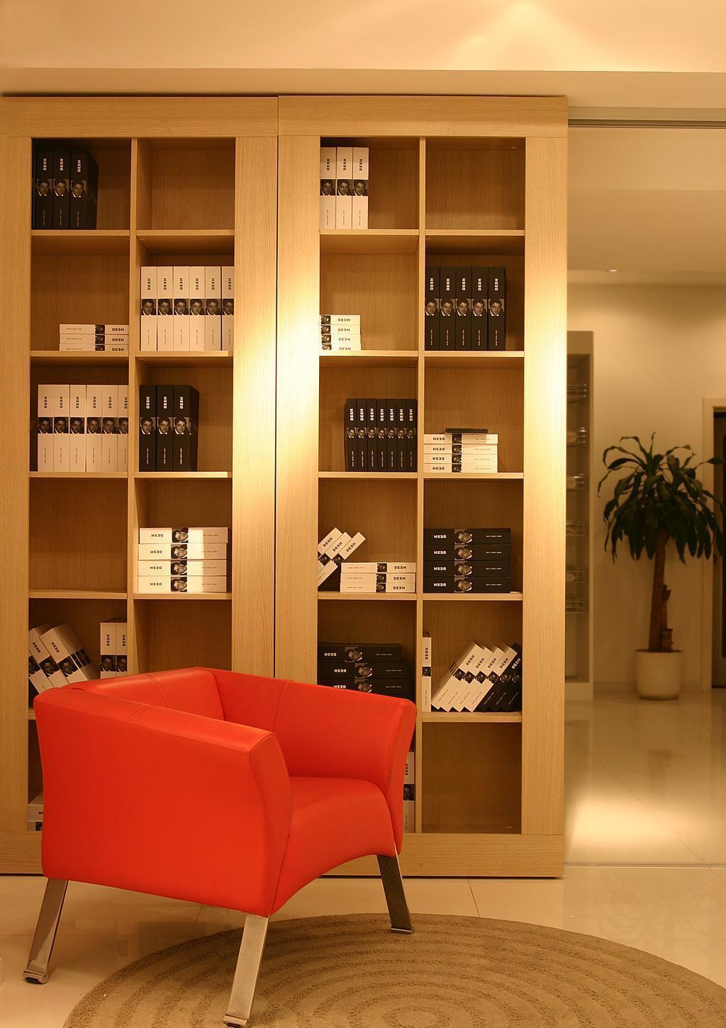瑞时赛博板式书柜-单色油漆赛博-板式