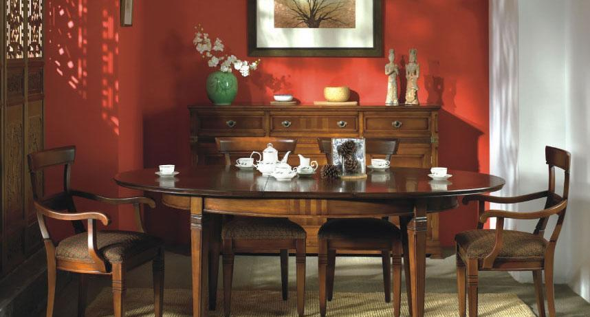 大风范家具积家传奇餐厅系列JE-710椭圆拉桌JE-710椭圆拉桌