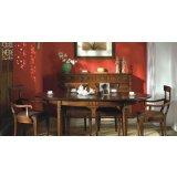 大风范家具积家传奇餐厅系列JE-710椭圆拉桌