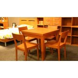 健威家具-加州缘系列-梨木餐桌(正方形)