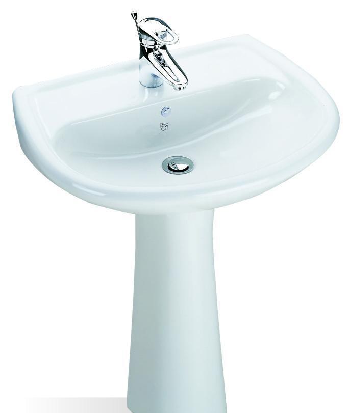 乐伊柱盆亚马逊系列Pedestal BasinL107PL107P