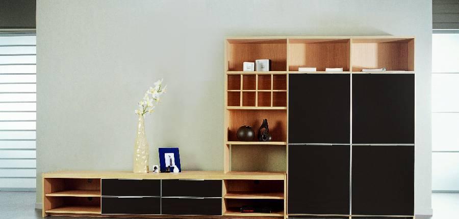 耐特利尔原橡木系列咖啡色彩釉电视柜咖啡色