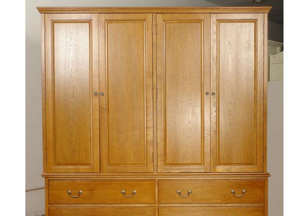 考拉乐橡树森林系列05-200-1-170四门大衣柜05-200-1-170