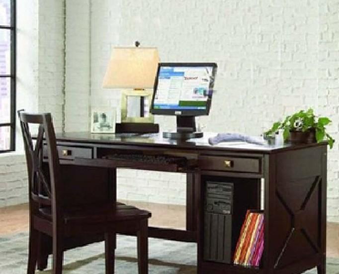 奥汀堡艺术家具阿瑞斯系列A87575美式家具电脑桌A87575