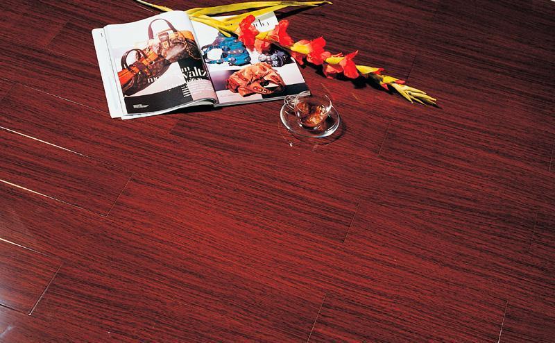 标王亚实木地板加州黑胡桃B1805B1805
