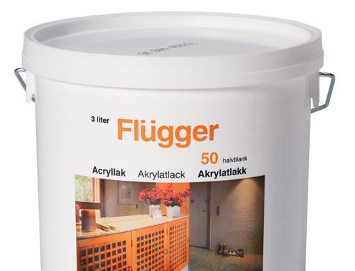 福乐阁水性木器清漆(50)Flügger Acrylic Lac..