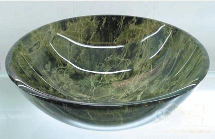古亚双层玻璃盆S768