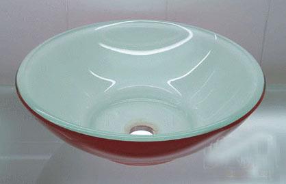 古亚立体玻璃盆Y328