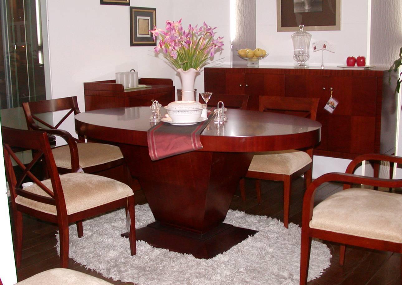 赛恩世家餐厅家具椭圆餐桌SP191 (新款)SP191