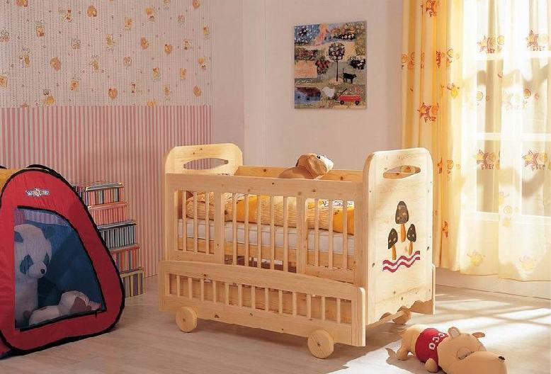翡翠藤器婴儿床c-098组合c-098