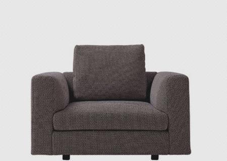 北山家居客厅家具单人沙发1SA290AD1SA290AD