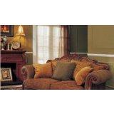 金富雅亨利美家古典色深色D7系列(D7-55B)双人沙发