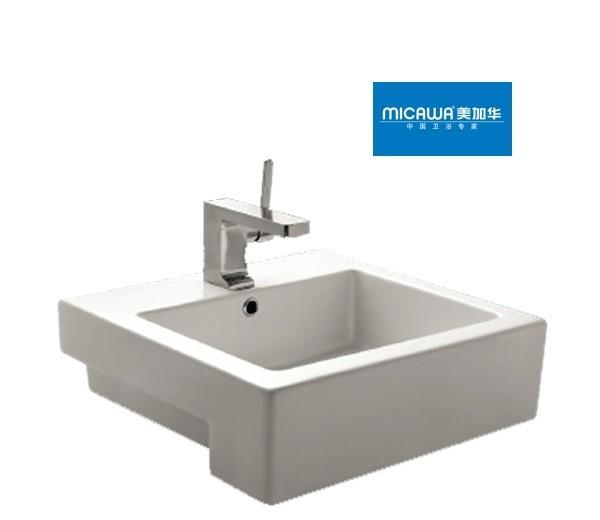 美加华-艺术盆M-4837(方形设计)M-4837