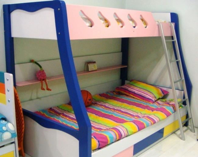 彩虹宝卧室家具-双层床1#